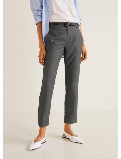Mango Pantalon avec ceinture amovible