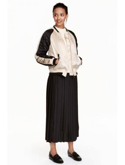 H&M Jupe plissée