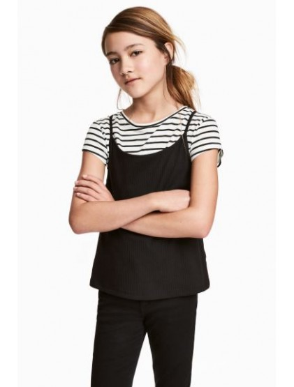 h&m top double
