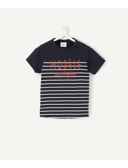 tao t-shirt manches courtes raye