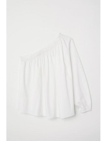H&M Blouse à manche asymétrique