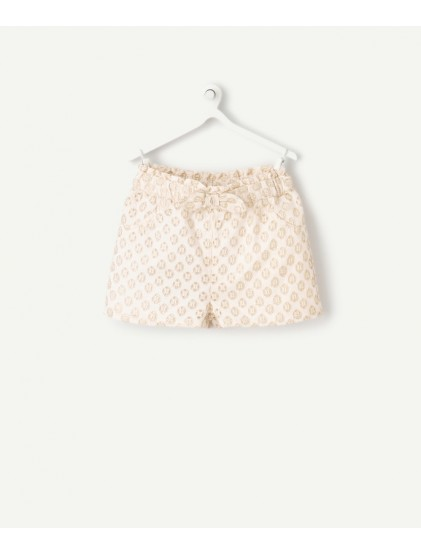 TAO SHORT À BRODERIE ANGLAISE
