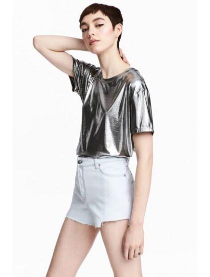 h&m Culotte courte en jean