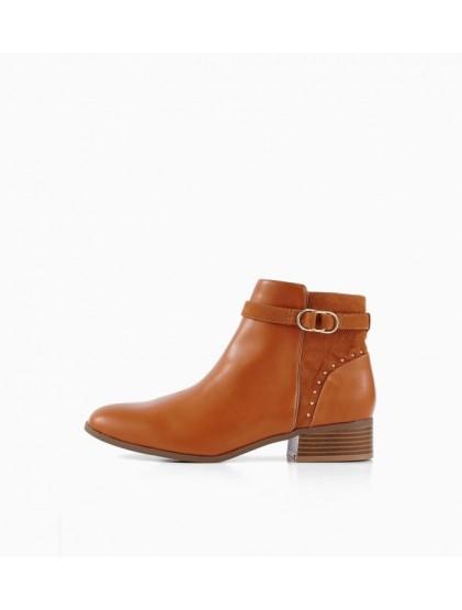 PROMOD — Boots cavalières Femme Camel