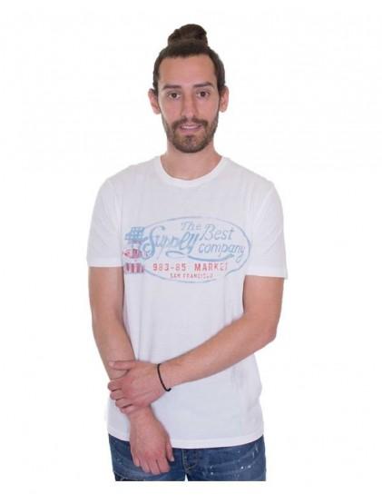 celio t-shirt blanc
