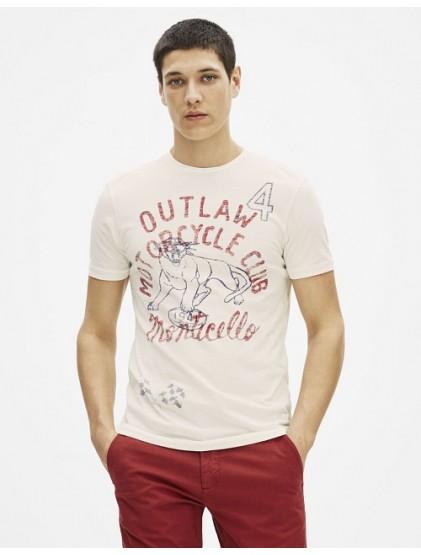 celio T-shirt col rond imprimé