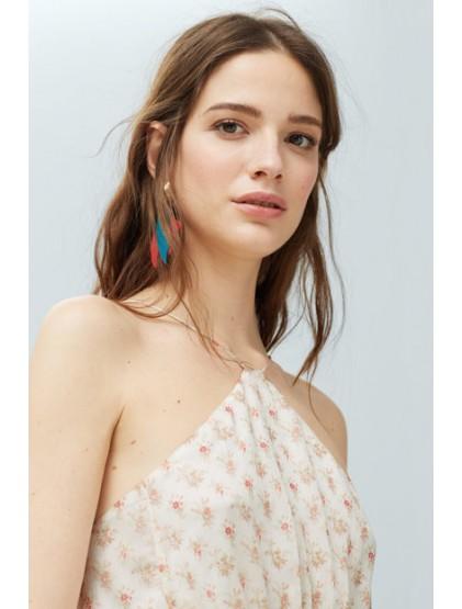 mango robe femme a fleurs