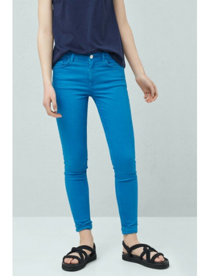 mango Femme Bleu Jean