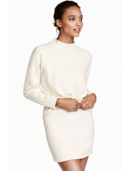 H&M Jupe en tissu armuré