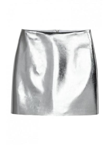 H&M Jupe métallisée