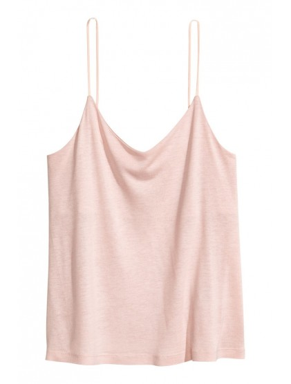 H&M Haut strappy jersey