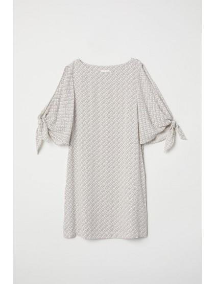 H&M Robe avec manches à nouer