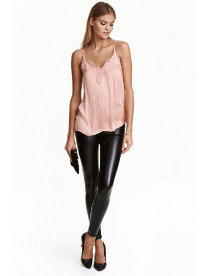 H&M Legging en imitation cuir
