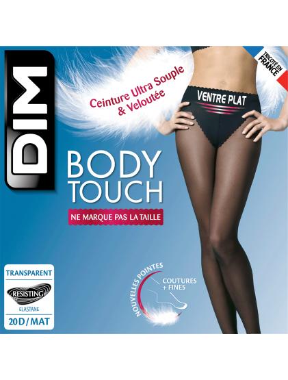 collant DIM body touch peau doree