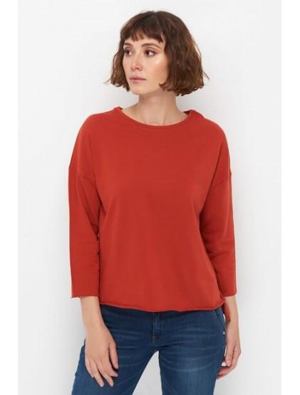 Sweat-shirt mango femme