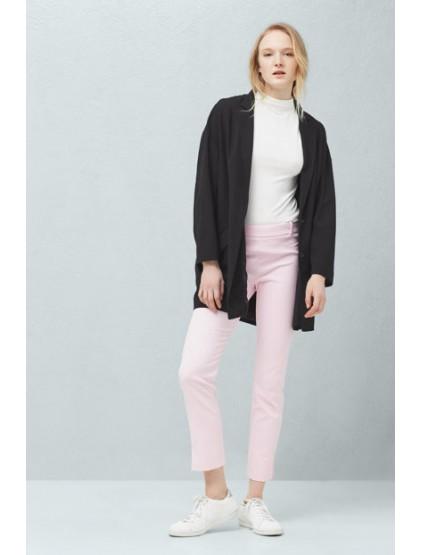 Mango Pantalon rose pour femme