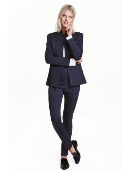 H&M Pantalon avec plis marqués