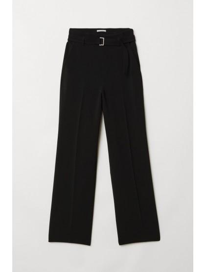 H&M Pantalon ample avec ceinture
