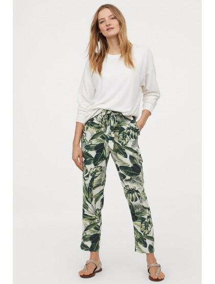 H&M Pantalon paper bag