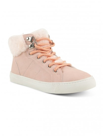 districenter TENNIS MONTANTES ROSES FILLE