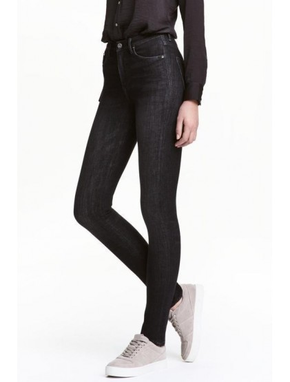 H&M Jean skinny taille haute 360