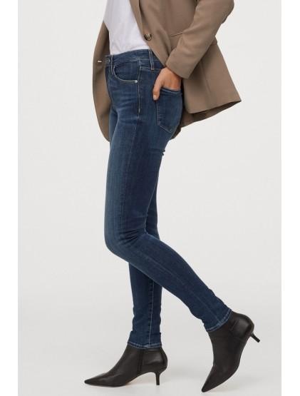 H&M Jean skinny regular moulant