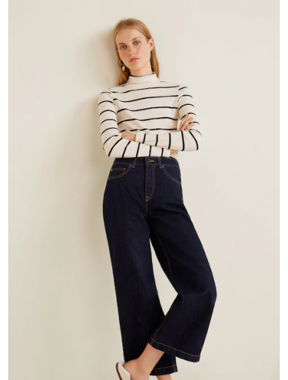 mangoJean relaxed Culotte