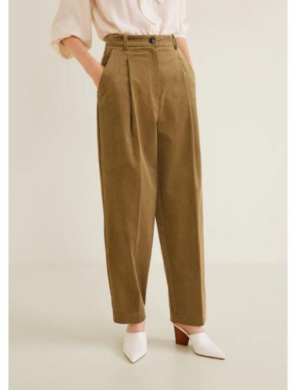 mango Pantalon droit velours côtelé