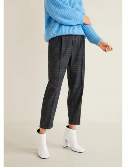 mango Pantalon droit à carreaux