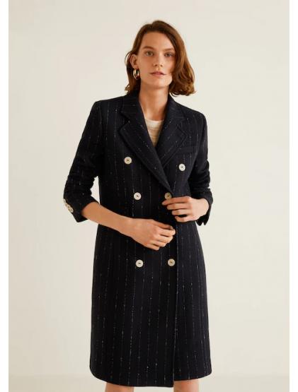 mango Manteau en laine à double boutonnage