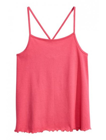 h&m Jersey strappy top