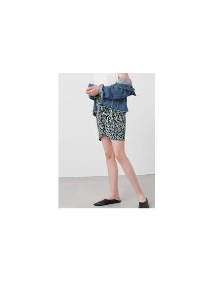 Mango Printed skirt