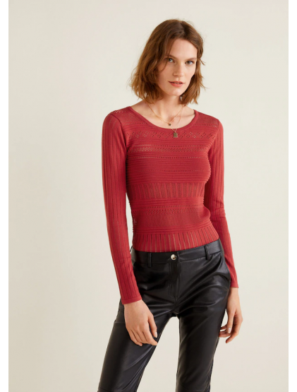 Mango Pull-over combiné maille