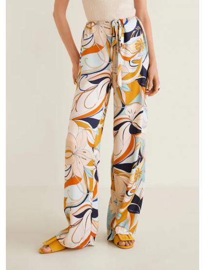 Mango Pantalon en imprimé à fleurs