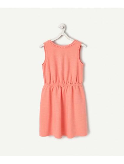 tao robe colorée avec ouverture au dos